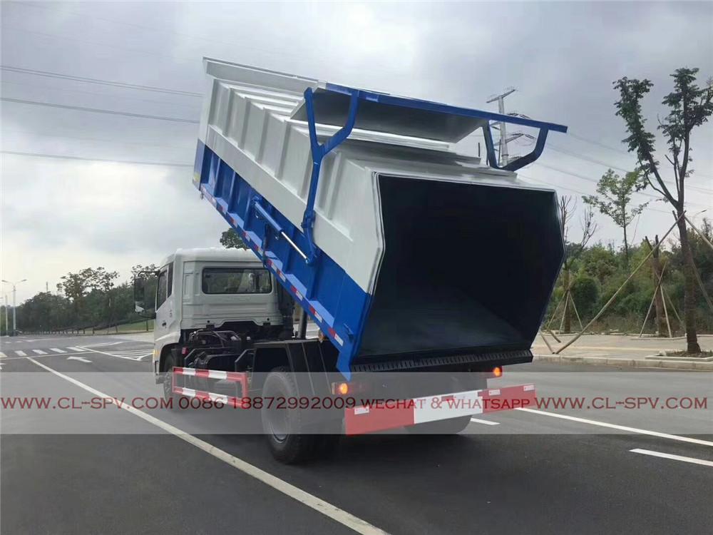 dongfeng docking garbage truck