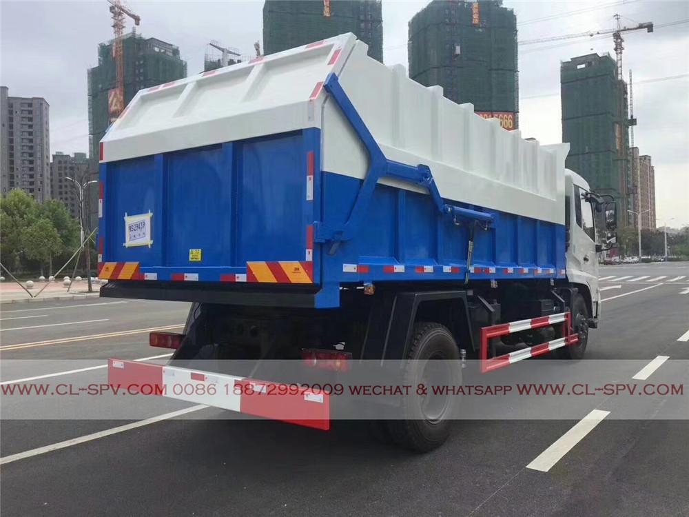 china docking garbage truck