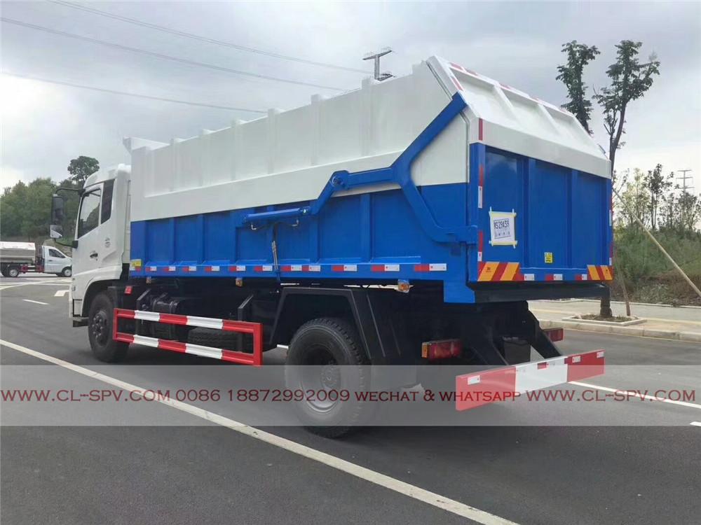 docking garbage truck supplier