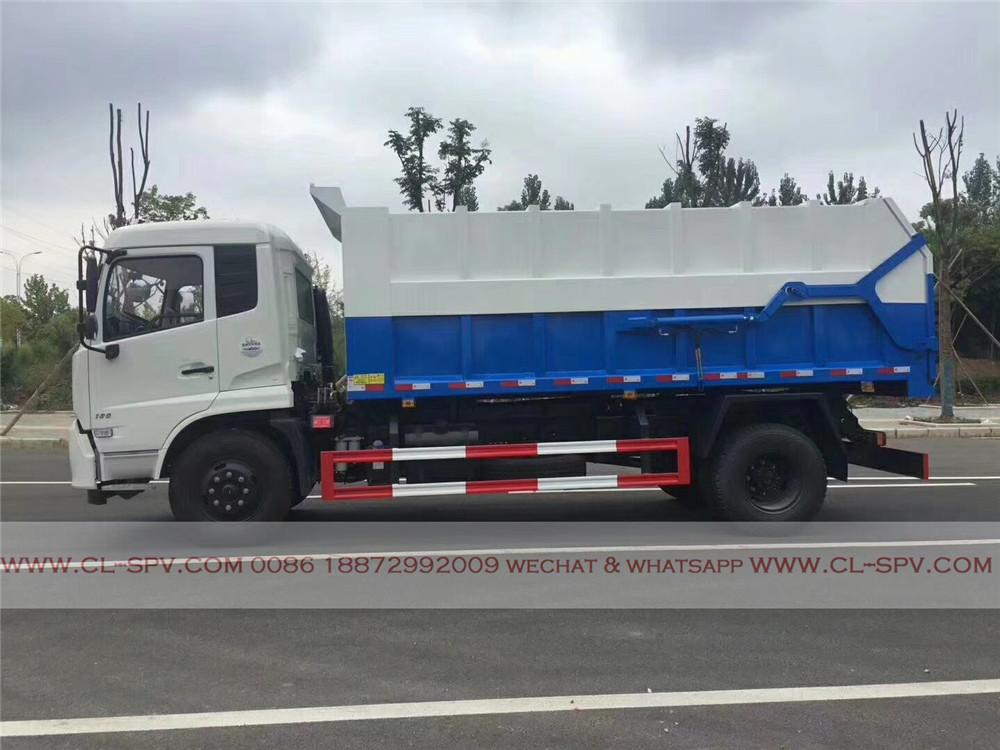 docking garbage truck manufacturer