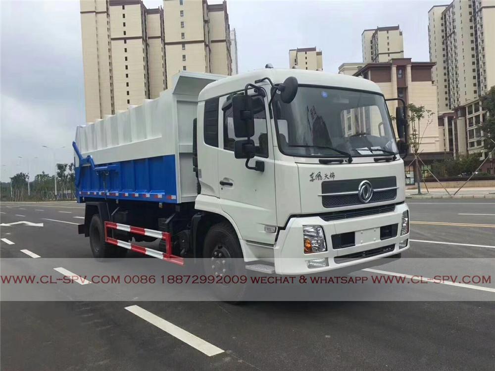 dongfeng tianjin docking garbage truck