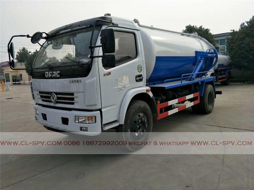 Dongfeng 5 cbm sewage suction truck