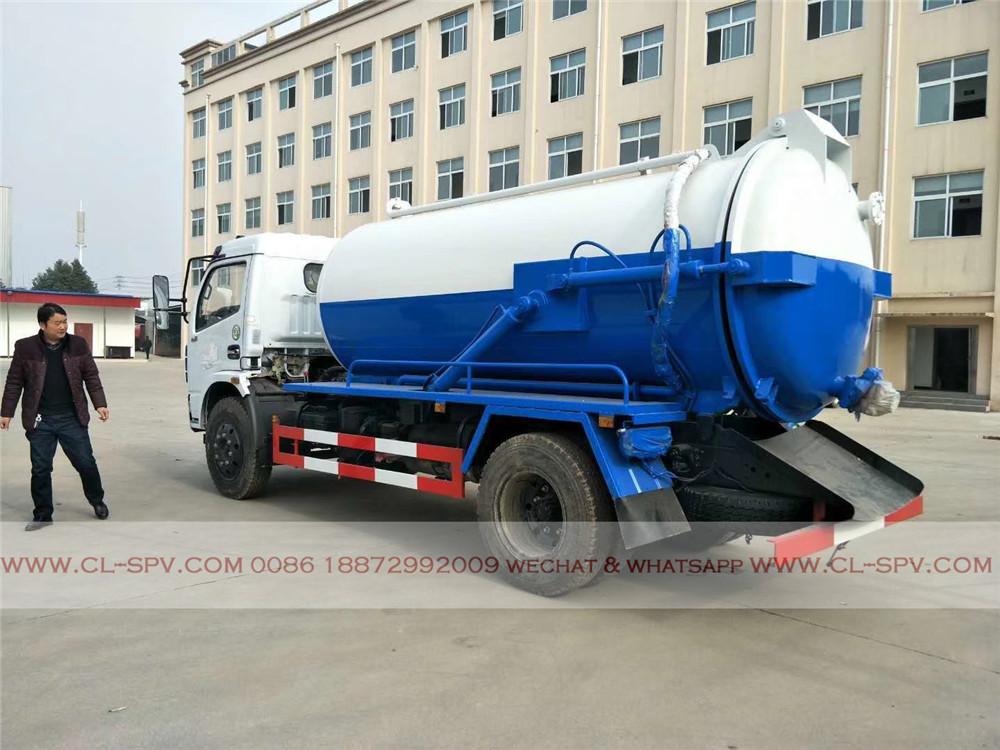 China 5 cbm Abwasser Saugwagen