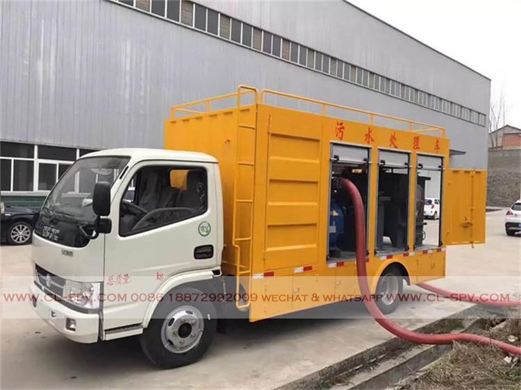 chengli Sewage purification vehicle