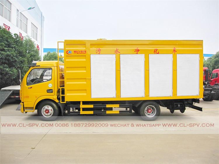 dongfeng Sewage purification truck