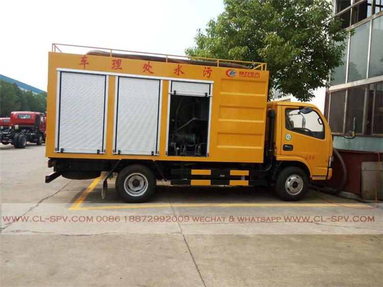 China Sewage water purification truck
