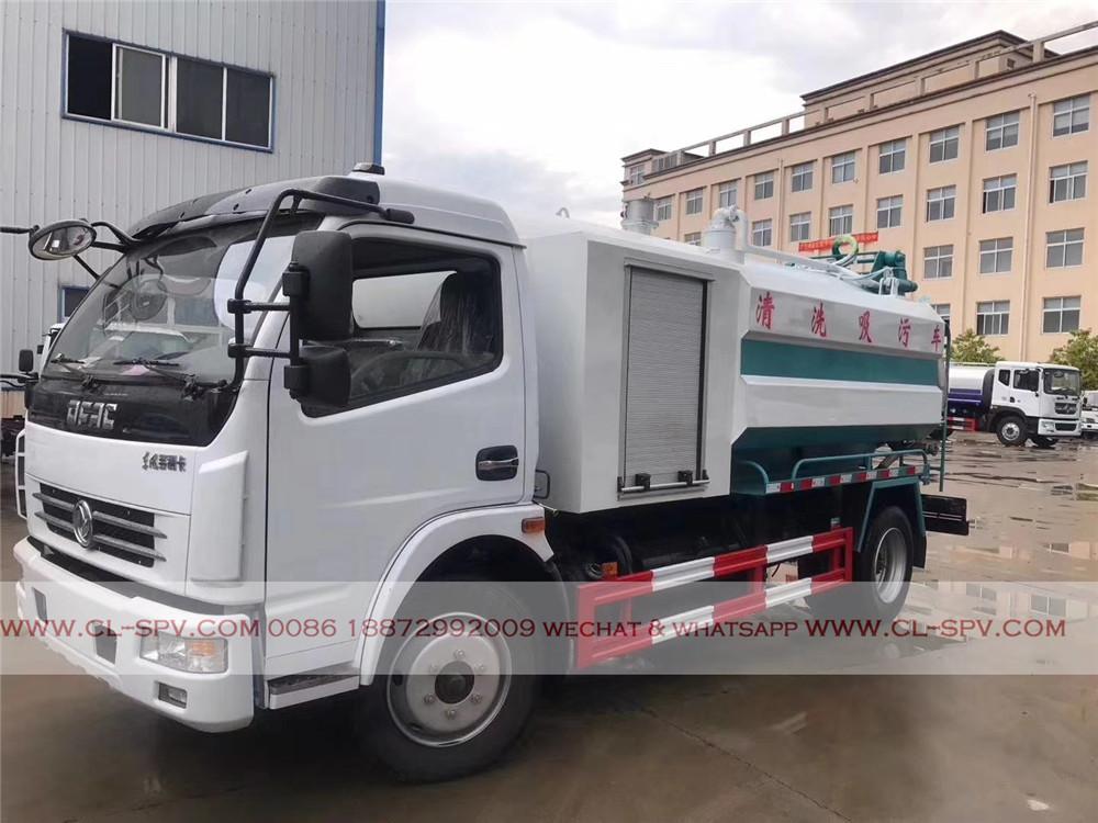 camion d'aspiration des eaux usées Dongfeng