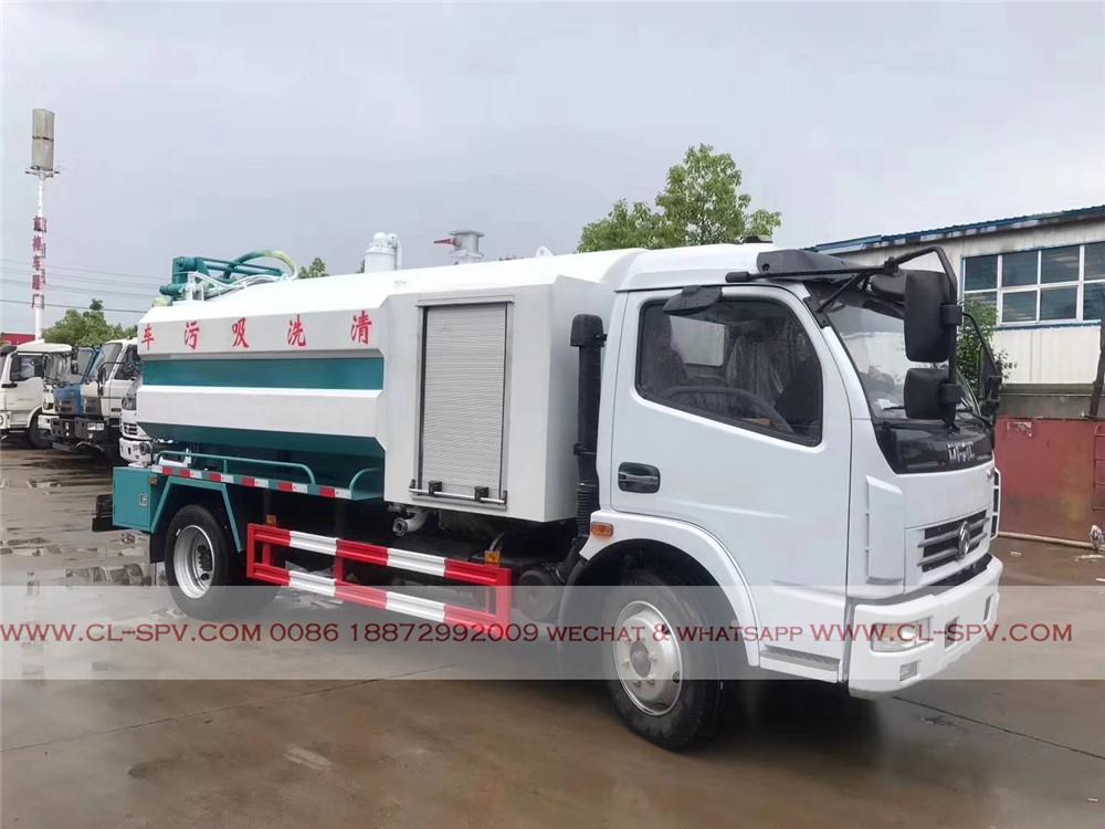 nuevo camión de succión de aguas residuales de Dongfeng