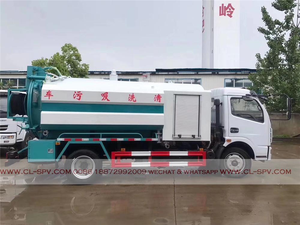 fournisseur de camion d'aspiration des eaux usées Dongfeng