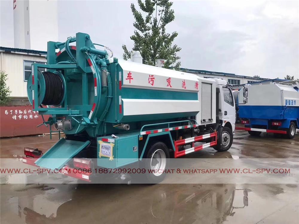 fabricant de camion d'aspiration des eaux usées Dongfeng