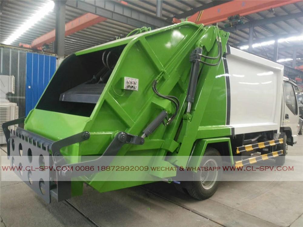 caminhão de lixo compactador ChengLi