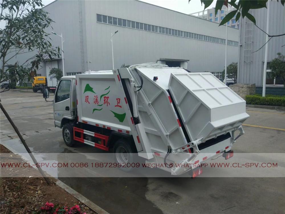 Kaima caminhão de lixo compactador