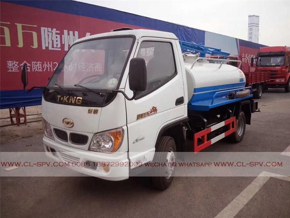 tangjun شاحنة شفط برازي
