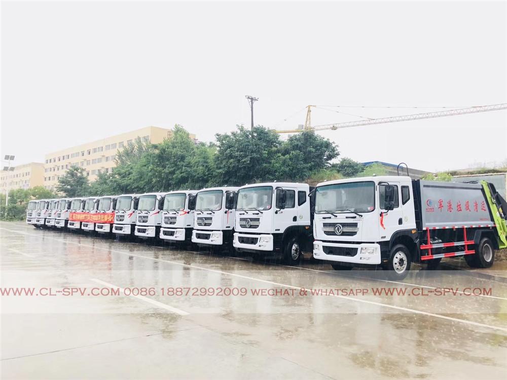 China Dongfeng compactor rear loader