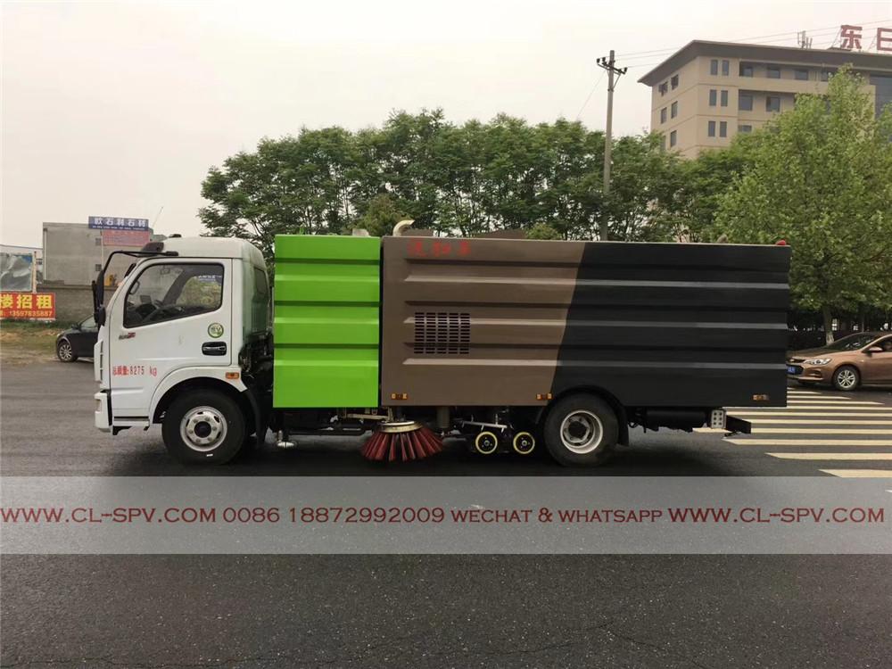 DFAC 6000 л подметально грузовик