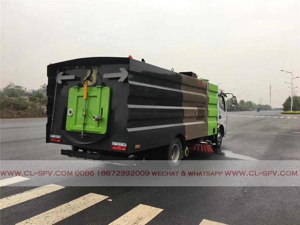 Dongfeng подметально грузовик