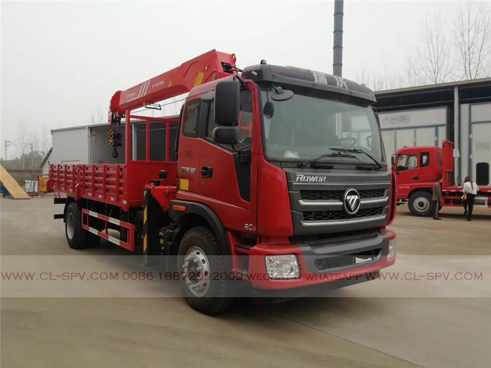 camion Foton avec Sany SPS 20000 grue