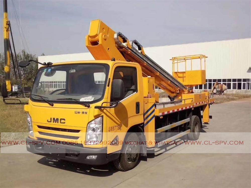 China JMC Gerader Arm Hubarbeitsbühne LKW