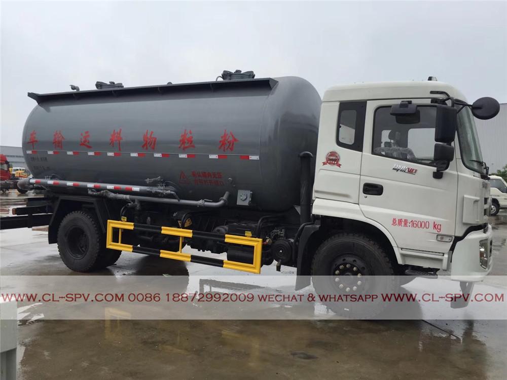 Camion de ciment en vrac sec Dongfeng