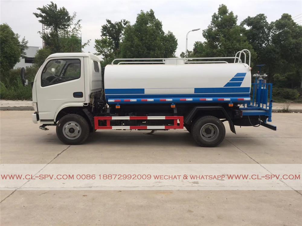 dongfeng furuika 5000 litres camion d'eau