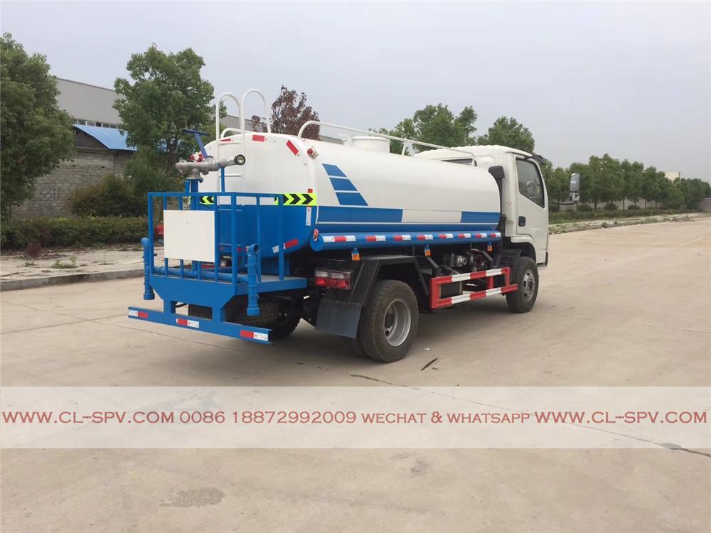fournisseur de camion d'eau dongfeng