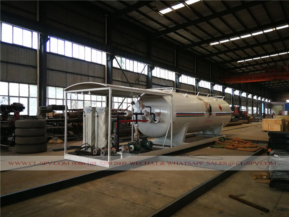 25000 liters LPG propane storage tanker