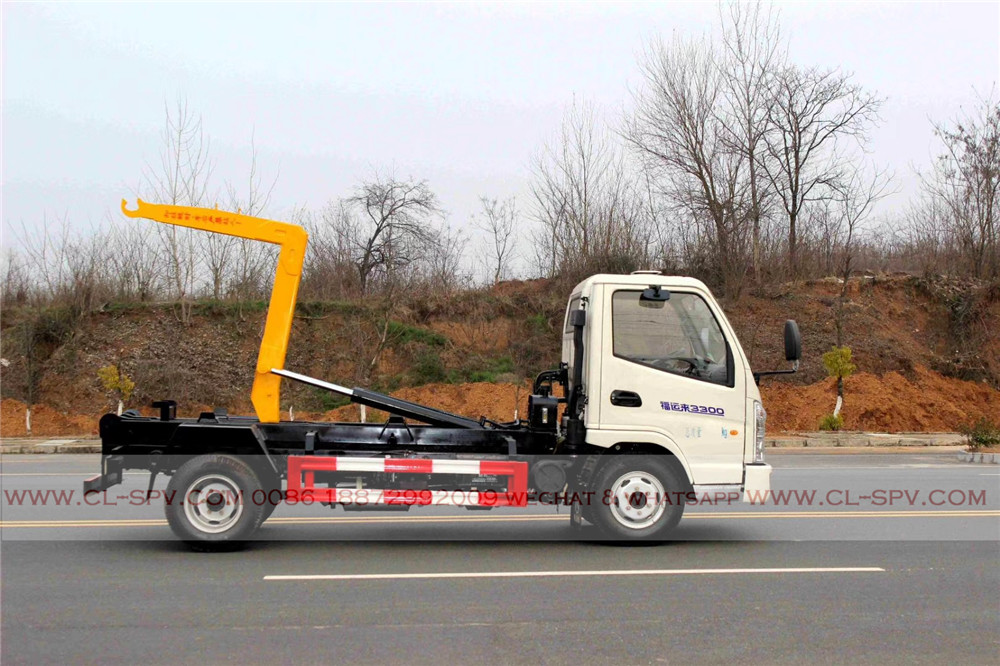 China best price hook arm garbage truck