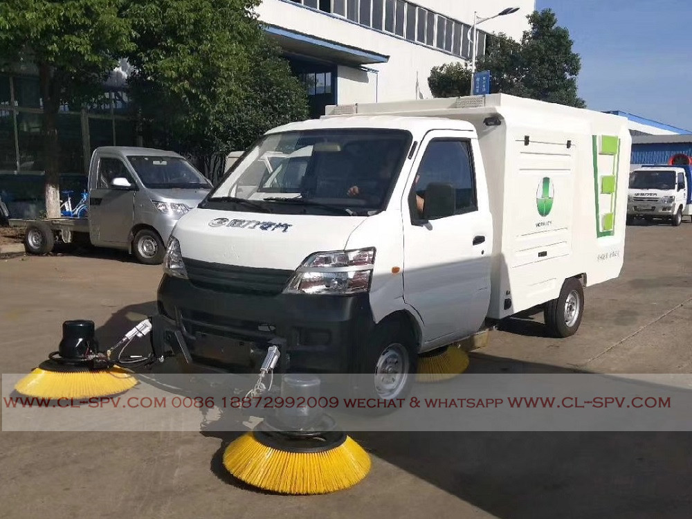 electrical road sweeper supplier & manufacturer