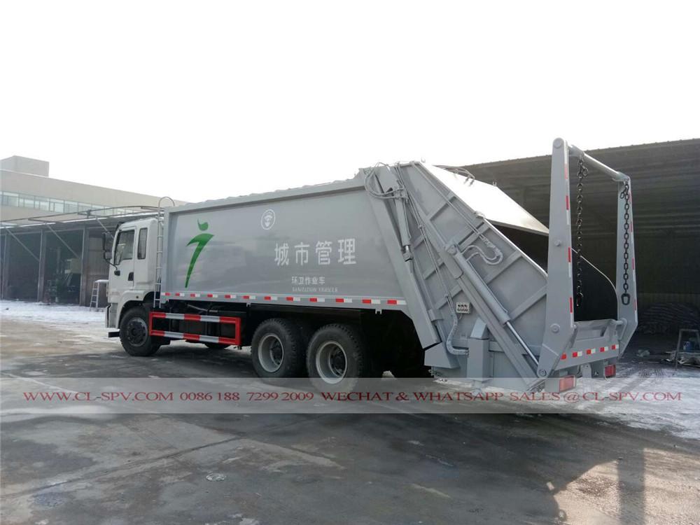 دونغفنغ شاحنة القمامة conpactor