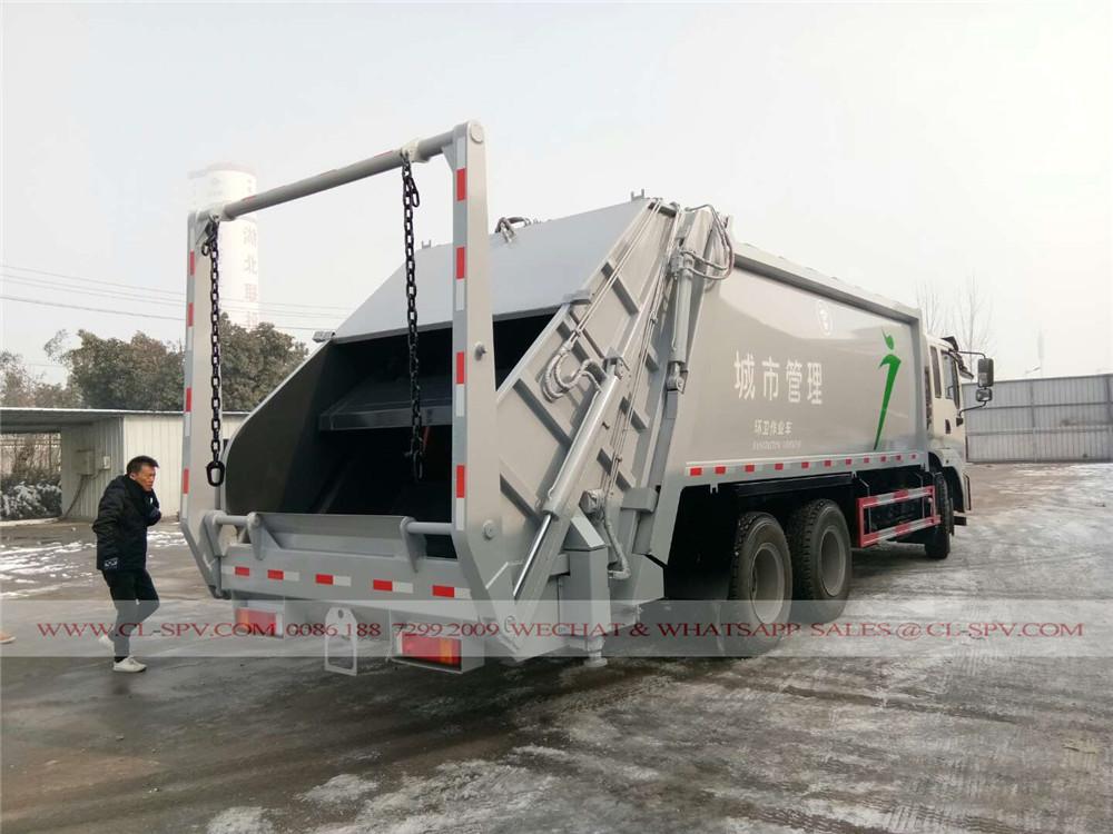 دونغفنغ 20 شاحنة لجمع القمامة متر مكعب
