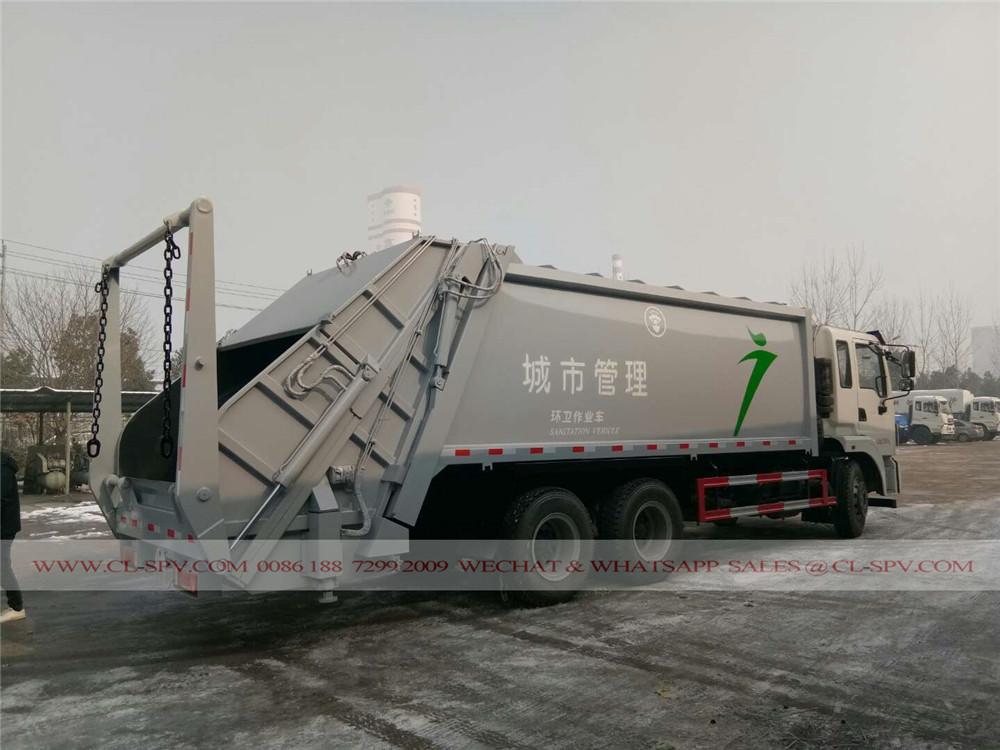الصين 20 متر مكعب شاحنة القمامة الضاغطة