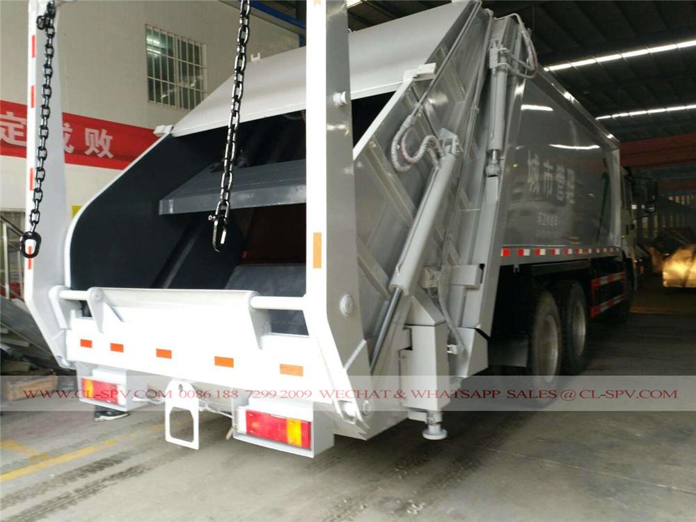 دونغفنغ 25 متر مكعب شاحنة القمامة الضاغطة