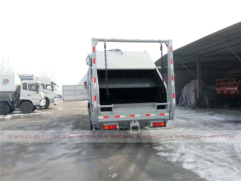 دونغفنغ 22 متر مكعب شاحنة القمامة الضاغطة
