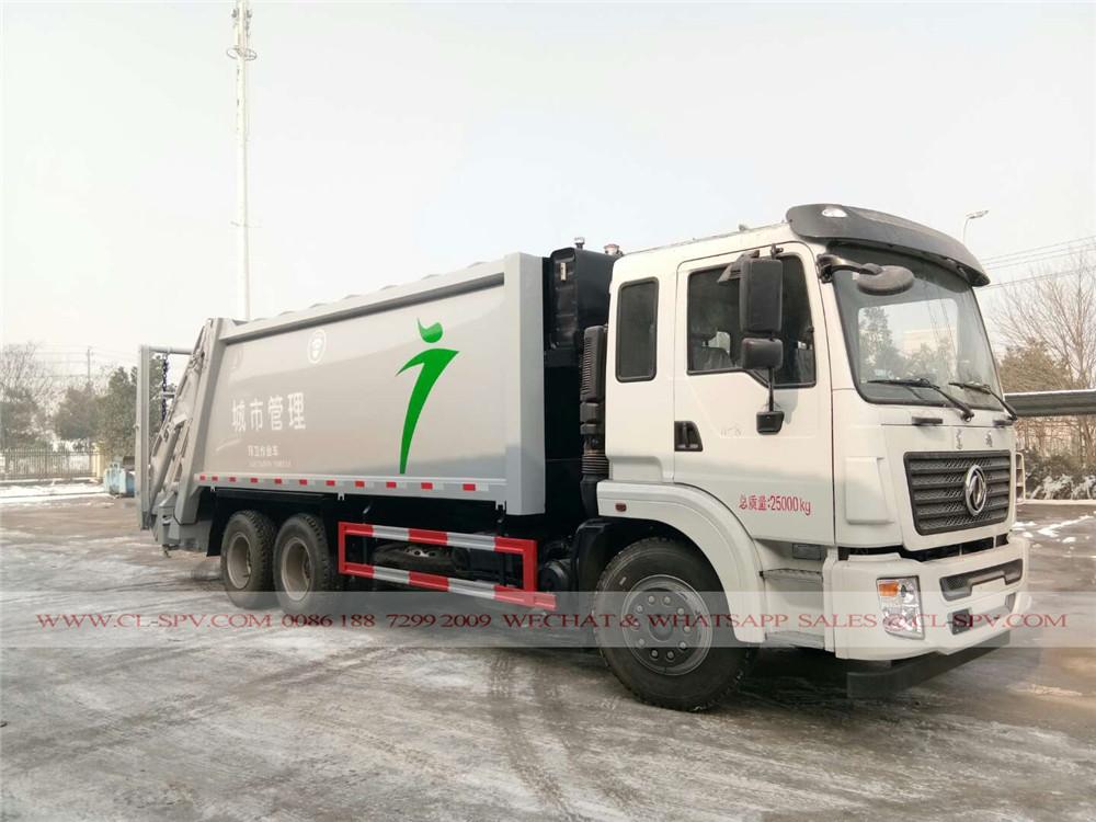 دونغفنغ 20 متر مكعب شاحنة القمامة الضاغطة