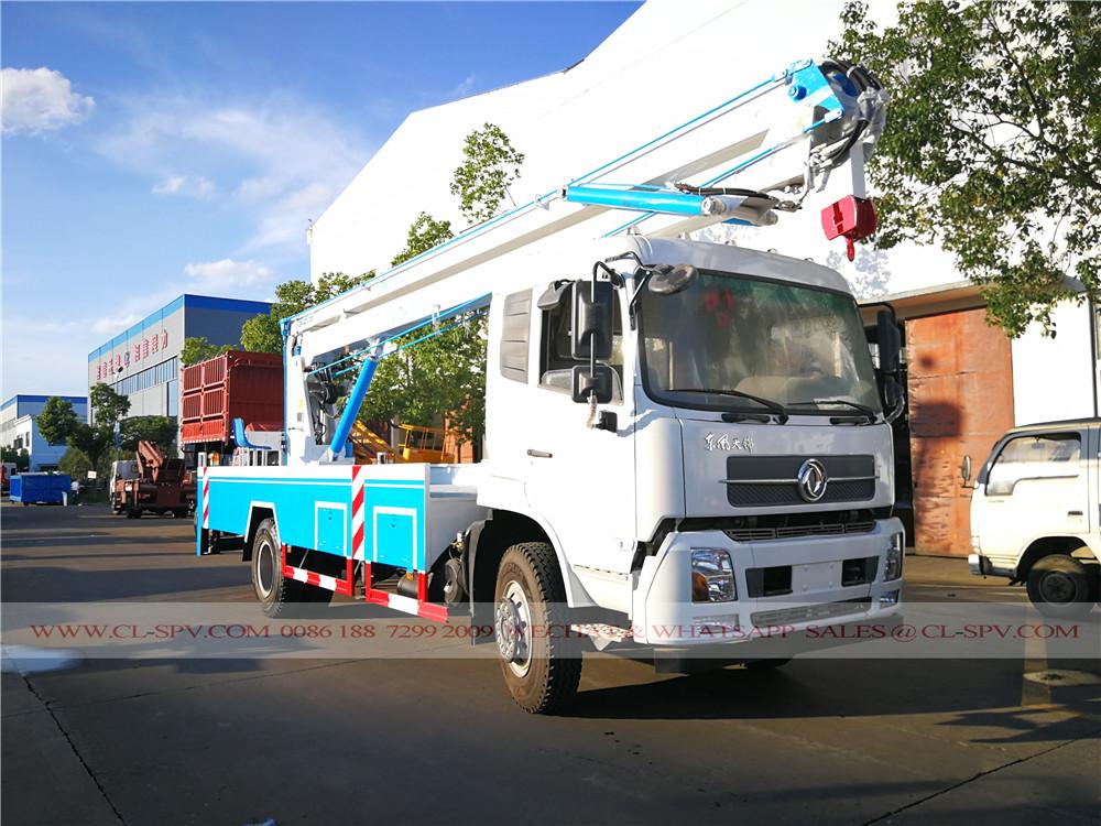 marchio Dongfeng 18 metri aeree autocarrate piattaforma