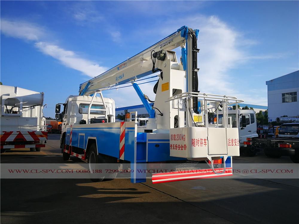 চীন 18 মিটার বায়বীয় প্ল্যাটফর্ম ট্রাক