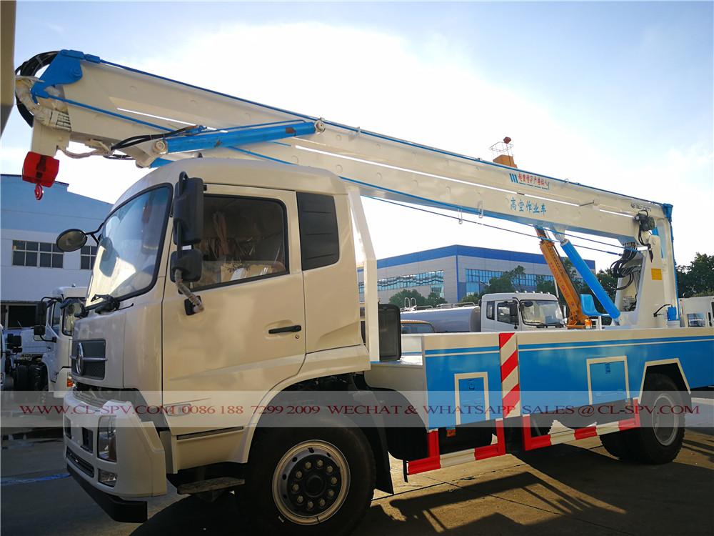 Dongfeng aerial platform truck supplier