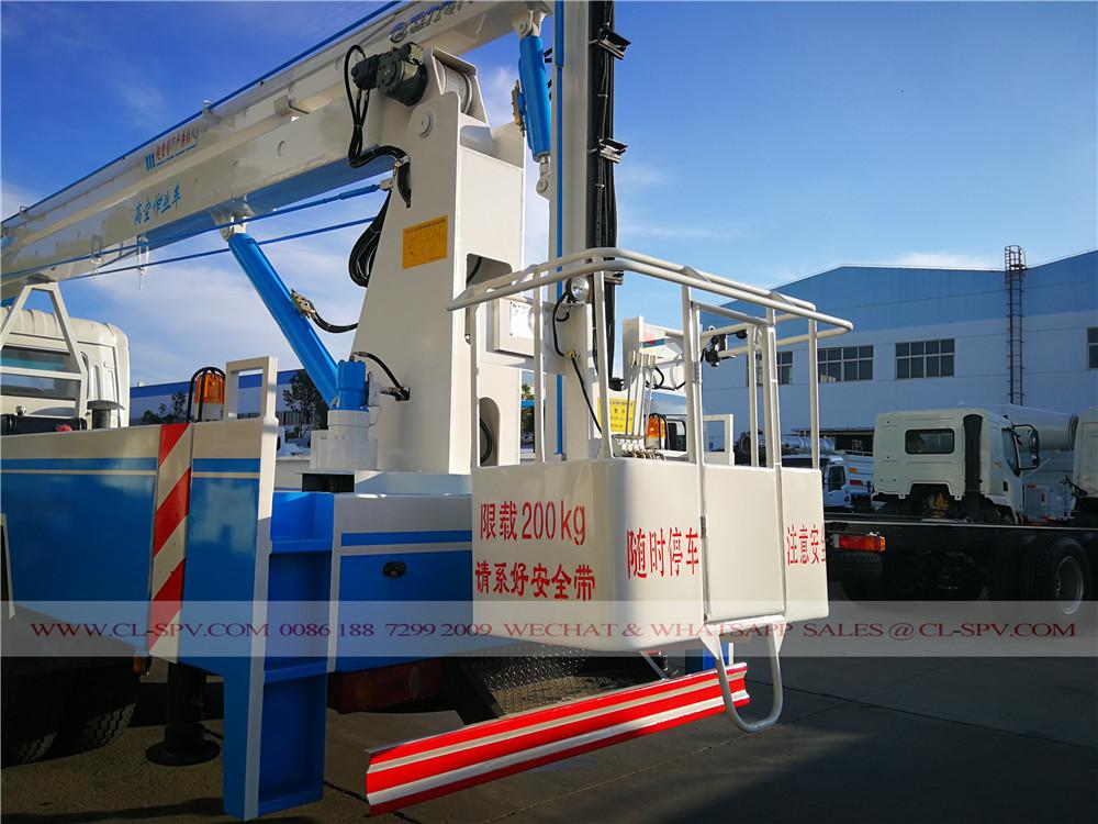 Dongfeng plataforma aérea fábrica de caminhões