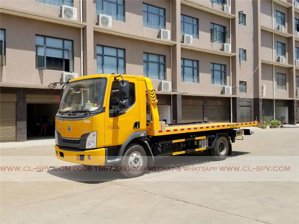 Dongfeng caminhão guincho liuqi