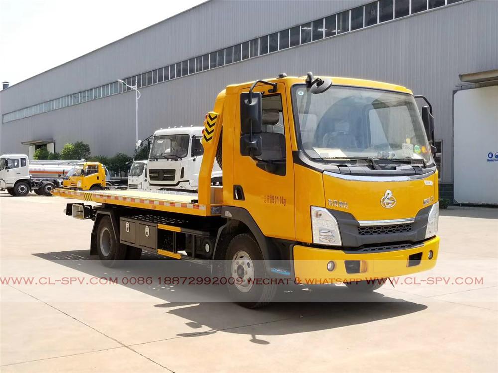 Dongfeng wrecker truck factory