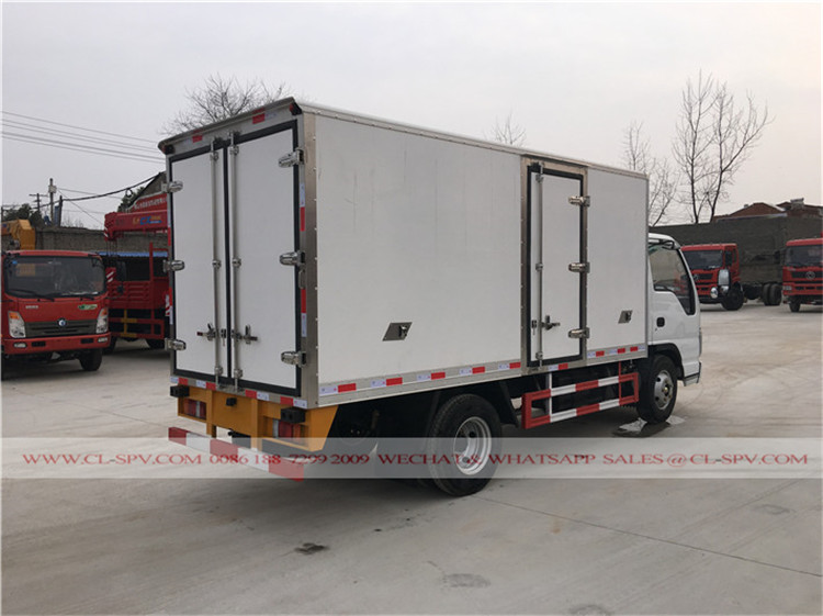 Isuzu 15000 liters refrigerated truck