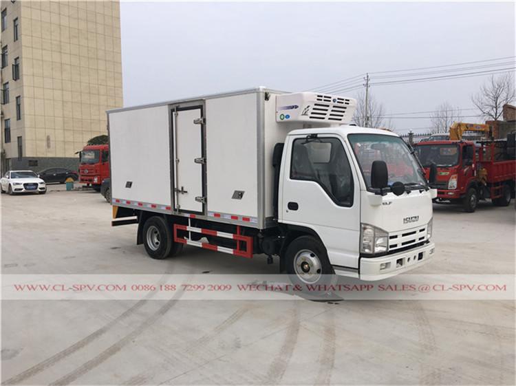 China caminhão refrigerado