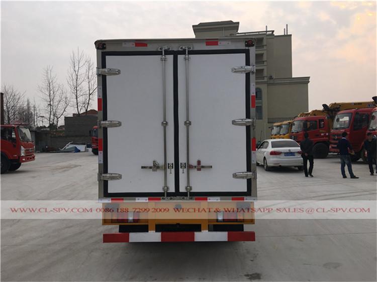 proveedor de camiones Isuzu refrigerador