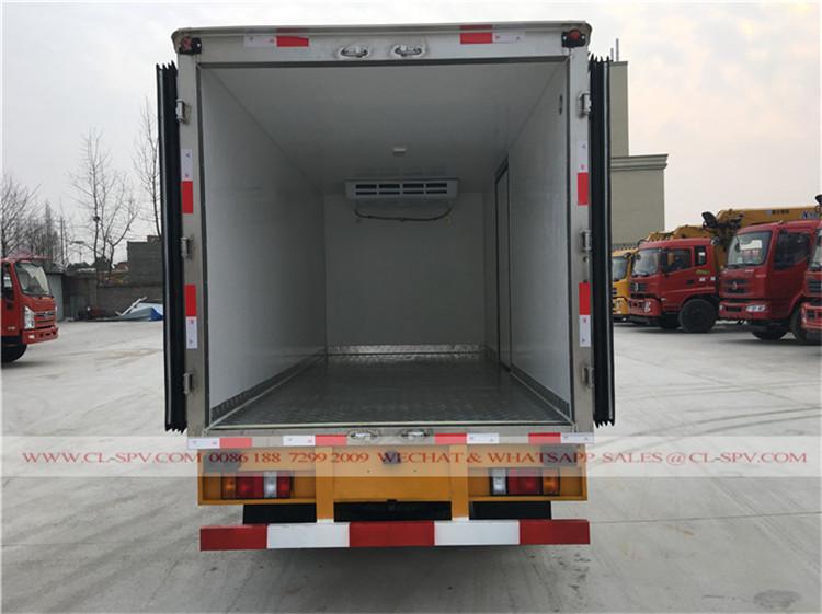 fabricante Isuzu refrigeraterd caminhão