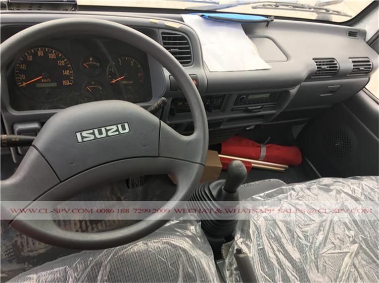cabine de Isuzu caminhão refrigerado