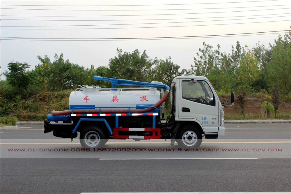 kaima 2000 los litros de camiones de succión fecales