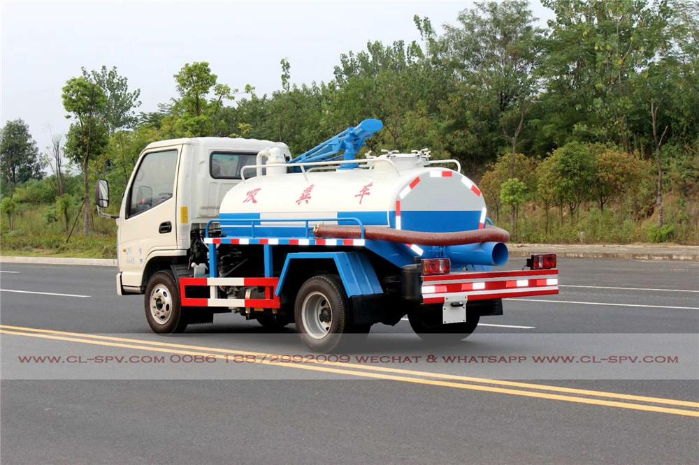 2000 los litros de camiones de succión fecales