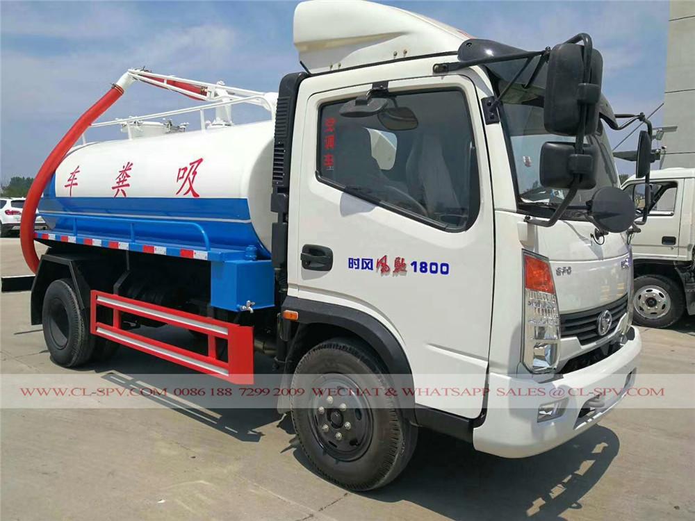 Shifeng camion fécales d'aspiration