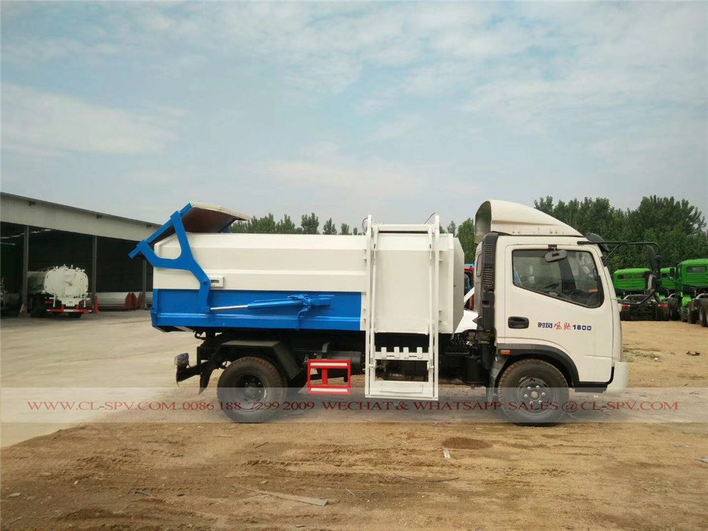 Shifeng Hanging bucket garbage truck