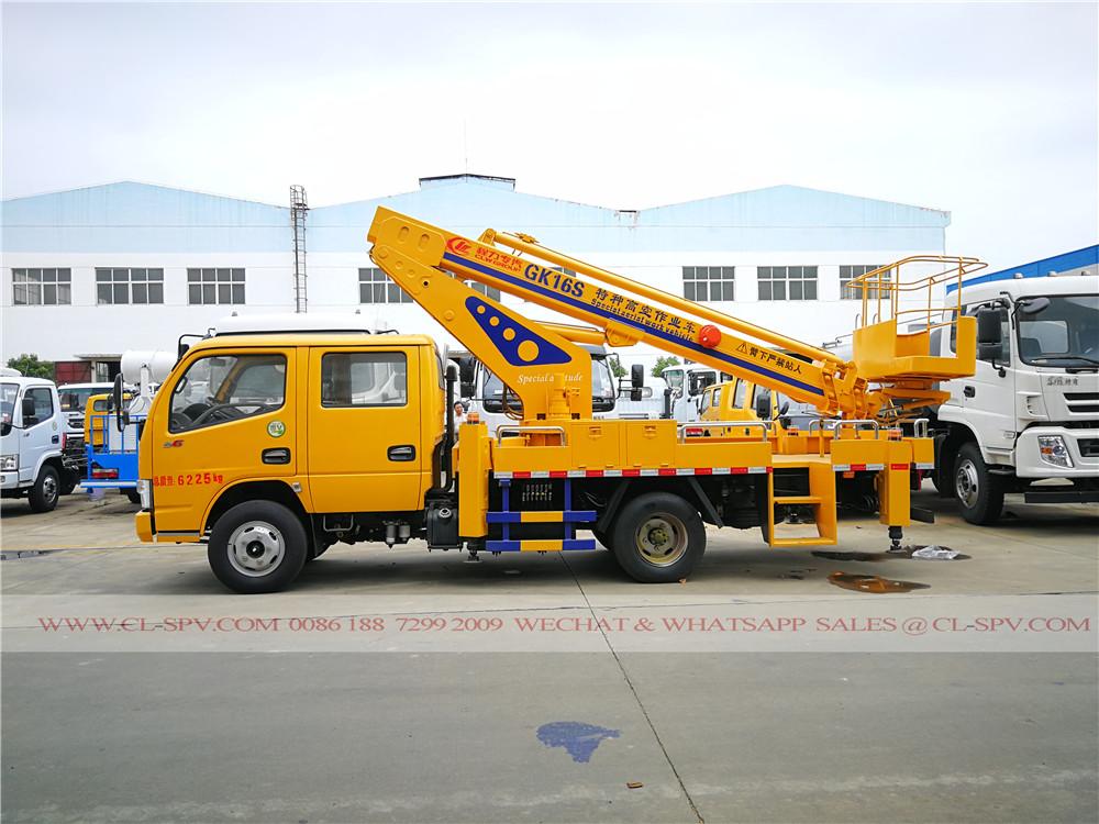 Dongfeng 16 meters aerial platform truck